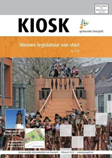 Nieuwe legislatuur van start - Gemeente Overpelt
