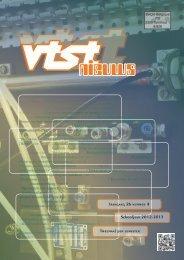 VTST-nieuws - Vrije Technische Scholen van Turnhout