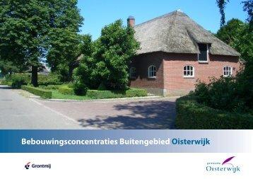 Vastgestelde visie bebouwingsconcentraties - Gemeente Oisterwijk