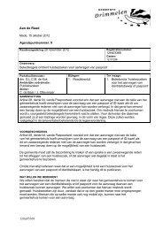 Beleidsregels omtrent huisbezoeken voor aanvragen van paspoort