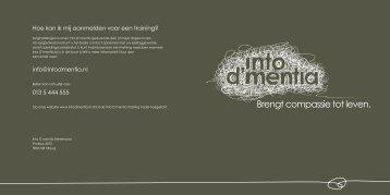Download brochure - Into D'mentia