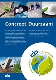 MVO-brochure 'Concreet Duurzaam' - Cementbouw