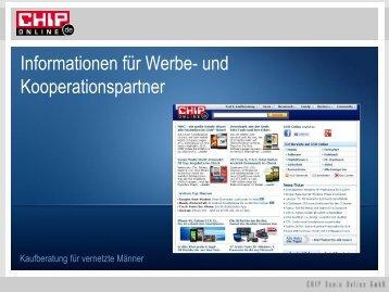 Informationen für Werbe- und Kooperationspartner
