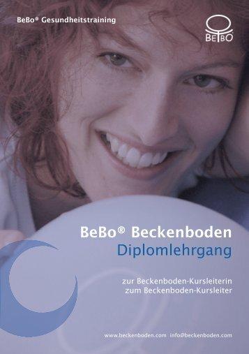 Bebo® Beckenboden Diplomlehrgang - Bebo® Gesundheitstraining