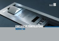 exklusive Türtelefone serie 50 - Telecom Behnke