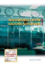 NIEUWSBULLETIN - Het Uitgeverijbedrijf