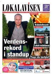 Kråkebollesushi Tungenes fyr Lokal-redaktøren - Lokalavisen