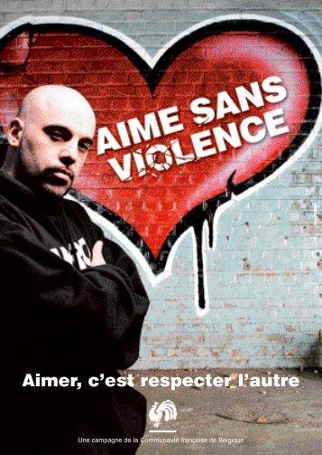 Brochure : Aime Sans Violence