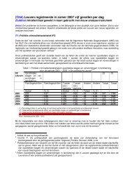 (Titel) Leuven registreerde in zomer 2007 vijf ... - Huiselijk Geweld