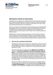 Delårsbokslutens funktion som beslutsunderlag - Jämtlands läns ...