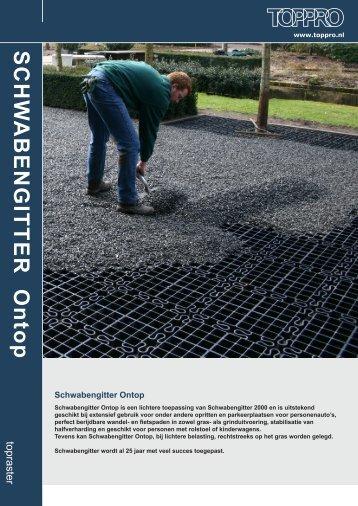 Brochure Schwabengitter Ontop - toppro
