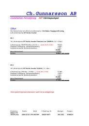 Offert mars 2013 - Orrlidens Stugägareförening