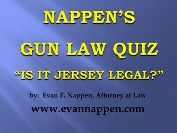 HERE - EVAN F. NAPPEN Attorney At Law, PC