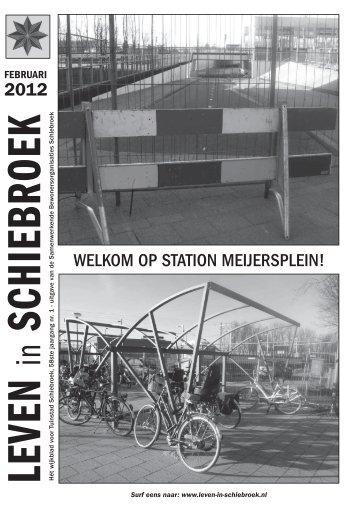 2012 WELKOM OP STATION MEIJERSPLEIN! - Leven in Schiebroek