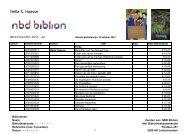 Bekijk de bestellijst met leverbare boeken van Hella S. Haasse