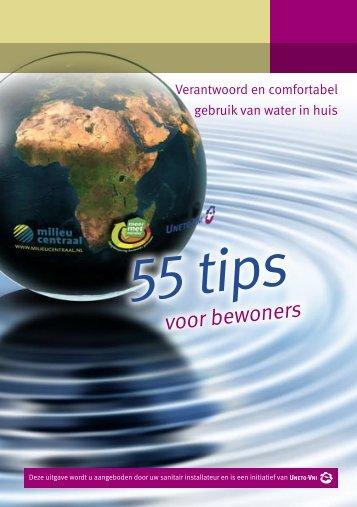 '55 tips voor bewoners'. - Uneto-VNI