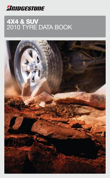 4X4 & SUV 2010 tyre data book - BFleet