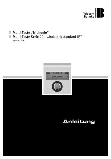 Anleitung - Telecom Behnke