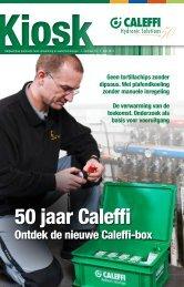 Lees het volledige artikel in onze nieuwsbrief Kiosk 15 - Caleffi