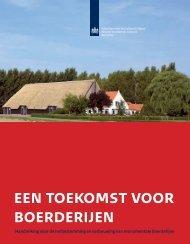 Een toekomst voor boerderijen (pdf) - Stichting Hugo Kotestein