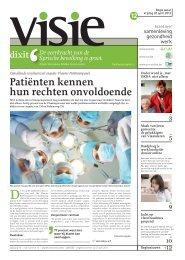 Patiënten kennen hun rechten onvoldoende - ACV