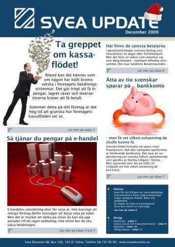 December 2009 - Svea Ekonomi