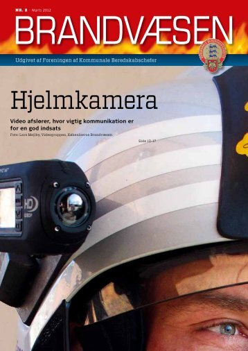 Hjelmkamera - Foreningen af Kommunale Beredskabschefer