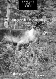 Skogsbruk och rennäring