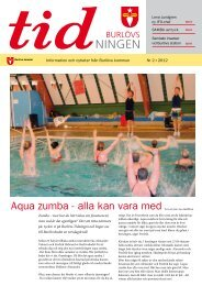 Aqua zumba - alla kan vara med - Burlövs kommun