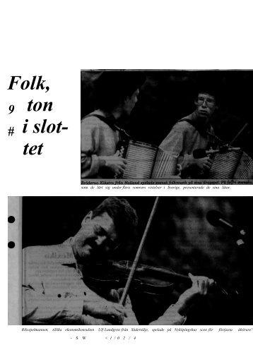1991-08-12 Ulf Lundgren folkton i slottet