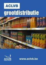 grootdistributie - Aclvb