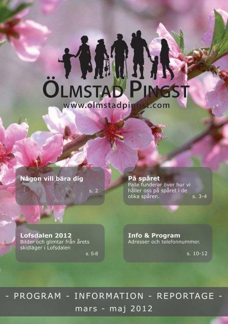 Programblad mars - maj 2012