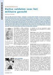 Duitse soldaten voor het militaire gerecht
