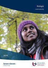 leren is leven - Universiteit Antwerpen