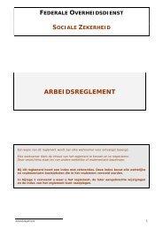 FEDERALE OVERHEIDSDIENST - FOD Sociale Zekerheid