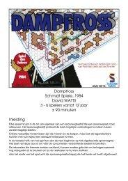 Dampfross Schmidt Spiele, 1984 David WATTS 3 ... - Forum Mortsel