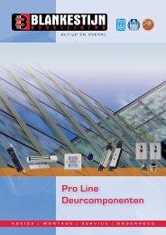Pro Line deurcomponenten - Blankestijn Beveiliging