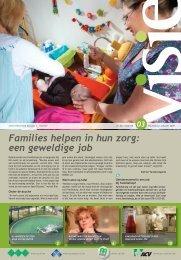 Families helpen in hun zorg: een geweldige job - ACV