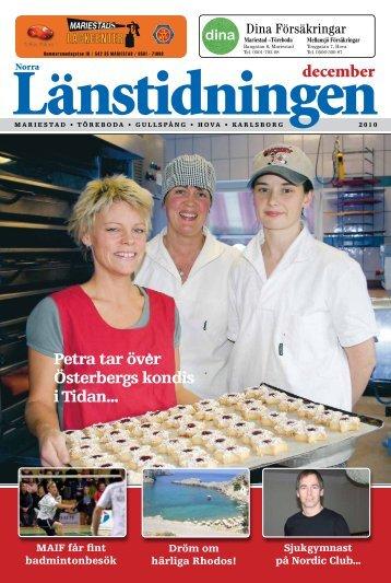 Petra tar över Österbergs kondis i Tidan... - Länstidningen