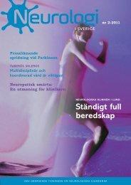 Nr 2 2011 - Neurologi i Sverige