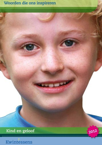 Woorden die ons inspireren Kind en geloof - NZV