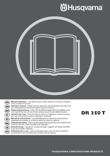 OM, DR350 T, DR 350 T, 2010-02, FR, EN, DE, IT, ES, NL, SE, PT