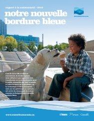 notre nouvelle bordure bleue - Waterfront Toronto