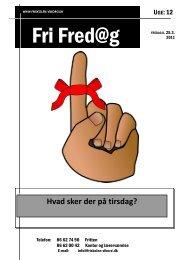 Hvad sker der på tirsdag? - Friskolen i Viborg