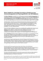 Wiener Städtische unterstützt Vorschlag zur Einführung ... - Auto Stahl