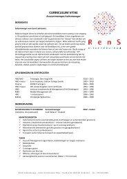 curriculum vitae uitzendbureau