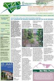 oktober 2011 OV krant - jaargang 4 - editie 2 - Ondernemend Vreewijk