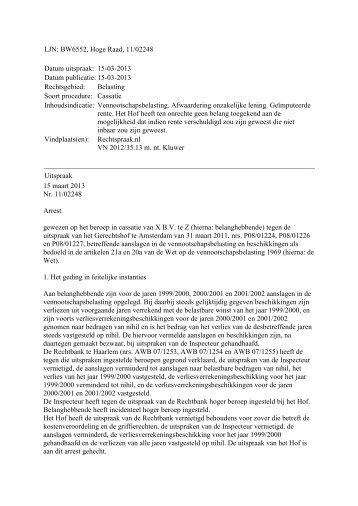 Hoge Raad, LJN BW6552, 15 maart 2013 - Plein +