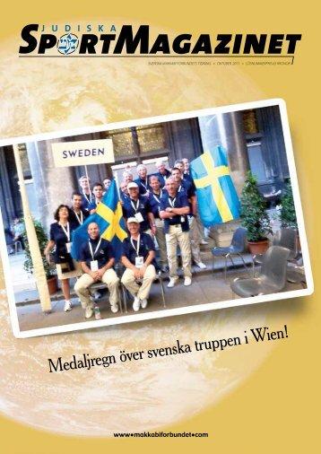 Medaljregn över svenska truppen i Wien! - Svenska Makkabiförbundet