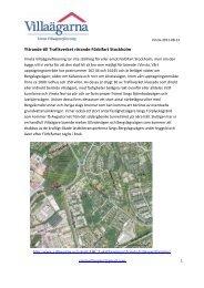 Yttrande Förbifart Stockholm 2011 godk - Villaägarna